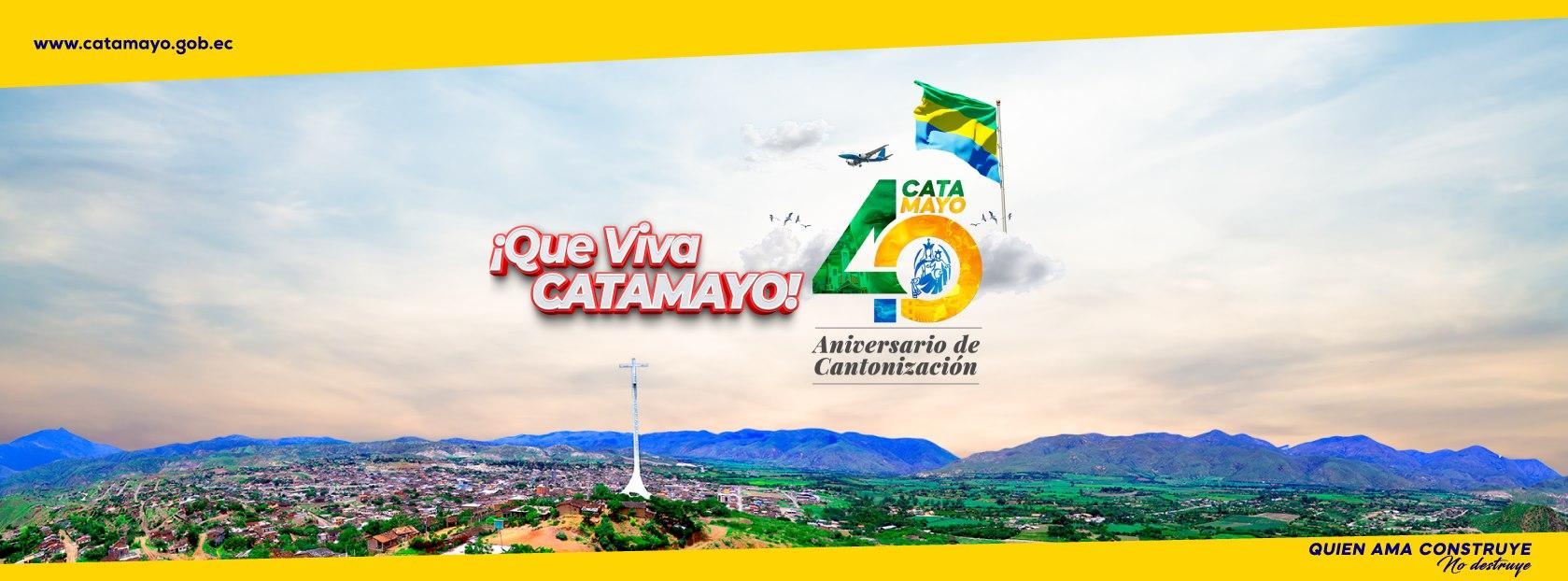 40 Años de cantonización de catamayo