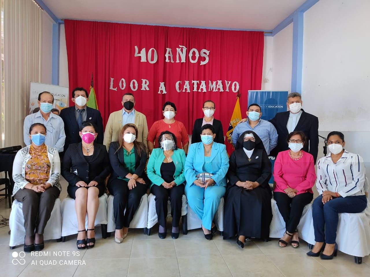 Distrito educativo rinde tributo a Catamayo por cantonización